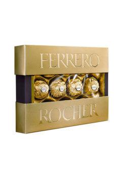 Конфеты Ferrero Rocher в картонной упаковке